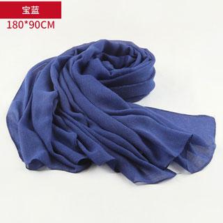 上海故事棉麻圍巾披肩