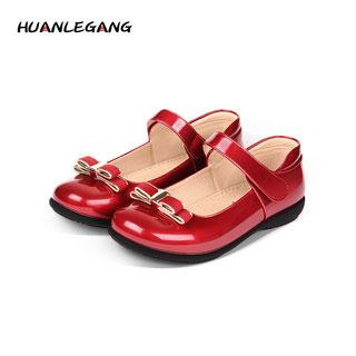 公主鞋宝宝单鞋女童皮鞋