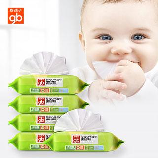 gb婴儿湿巾80抽5包