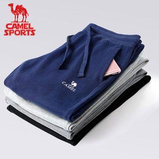 拍2件 骆驼薄款运动裤