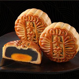 稻香村蛋黄枣蓉月饼8块
