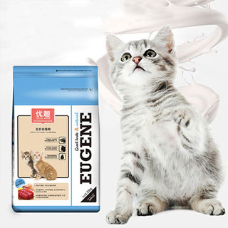 幼猫粮奶糕离乳期5斤猫粮