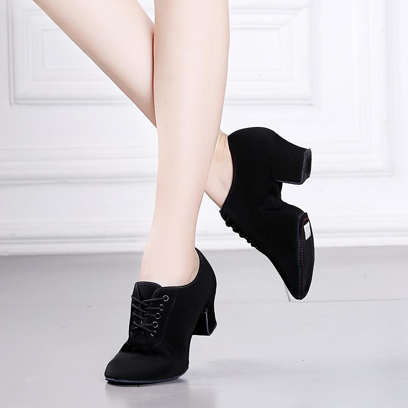 舞天姿拉丁舞鞋女