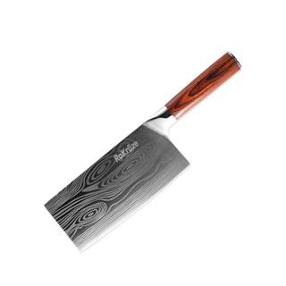 乐克勒赛大马士革钢菜刀