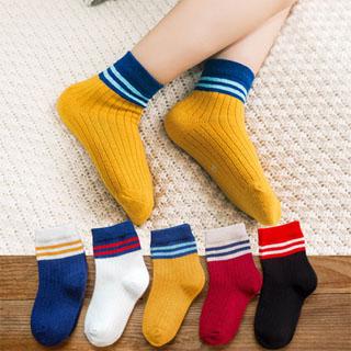 儿童袜子加厚秋冬