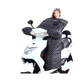 摩托车冬季加绒挡风被