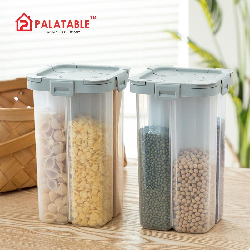 食品級密封罐分格干貨收納罐