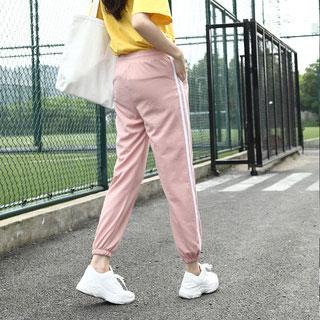 显瘦束脚休闲裤运动裤