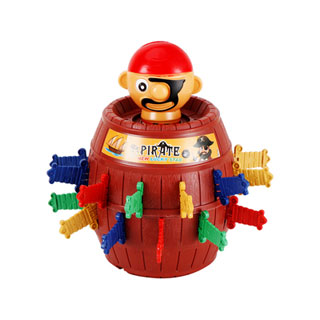 海盗木桶玩具21cm*15cm