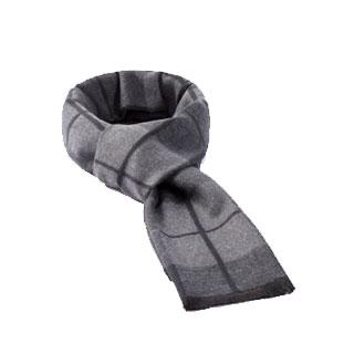 冬季高檔男式簡約百搭圍巾