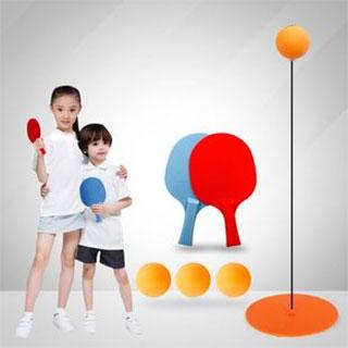 弹力软轴乒乓球训练器