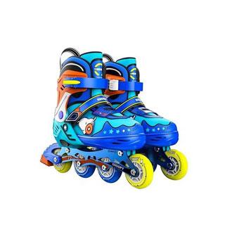 溜冰鞋儿童轮滑八轮全闪套装