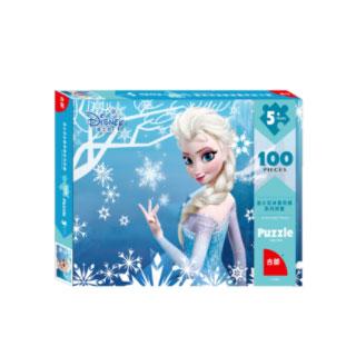 迪士尼冰雪奇缘拼图100片
