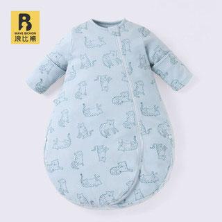 纯棉宝宝一体防踢被睡袋