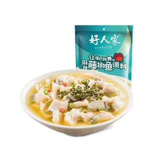 麻辣藤椒魚調料210g