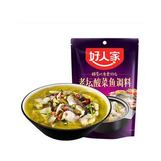老壇酸菜魚調料350g
