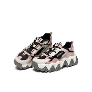 达芙妮真皮网红老爹鞋
