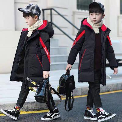 男童中长款羽绒棉服外套