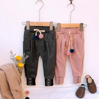 儿童工装裤宝宝休闲裤