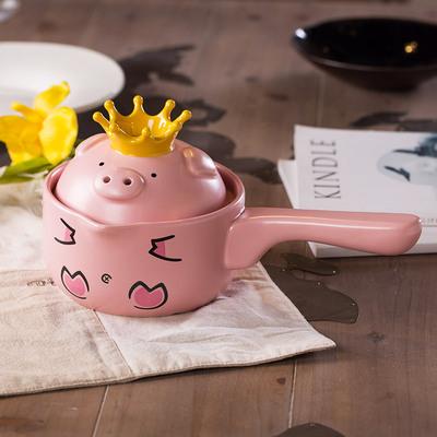 可爱猪猪砂锅煲汤