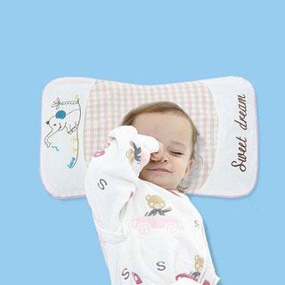 儿童荞麦纯棉枕头