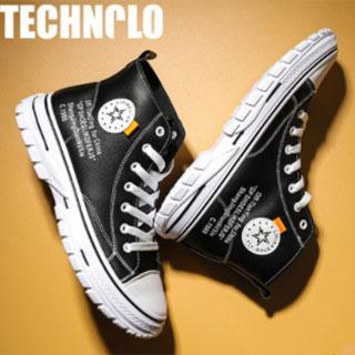 潮流韩版时尚高帮鞋