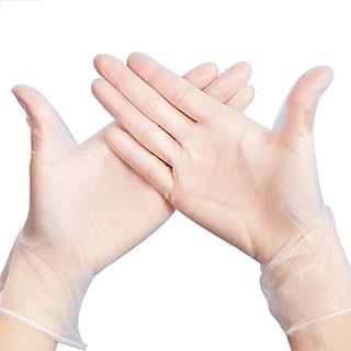 pvc乳胶手套70-100只