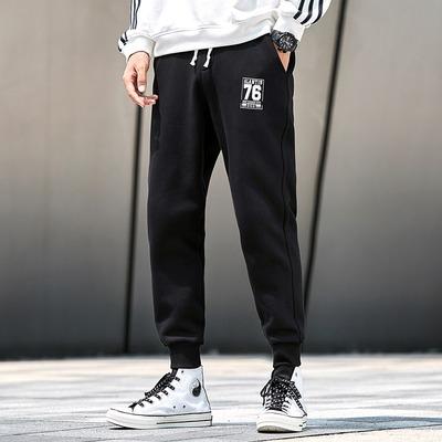 加绒运动裤卫裤