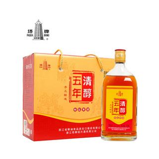 五年清醇黃酒500ml*六瓶