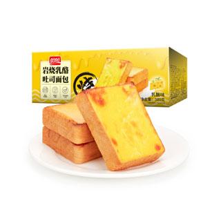 盼盼岩烧乳酪吐司面包500g