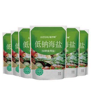 低鈉海鹽加碘鹽320g*6袋