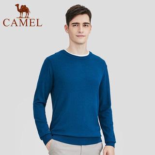 駱駝男裝時尚休閑針織衫