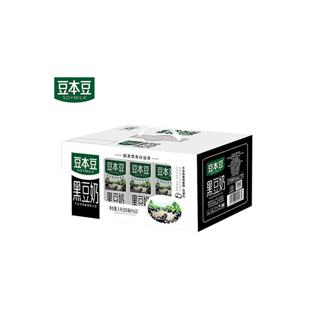 豆本豆黑豆奶250mlX12盒