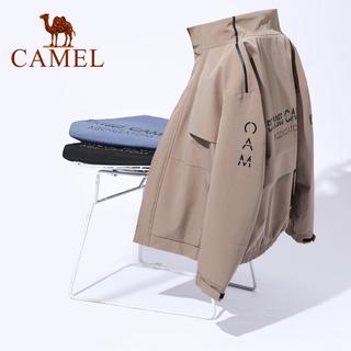 駱駝新款男裝工裝夾克