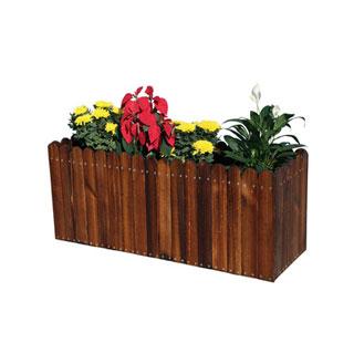 防腐木种植箱实木花槽