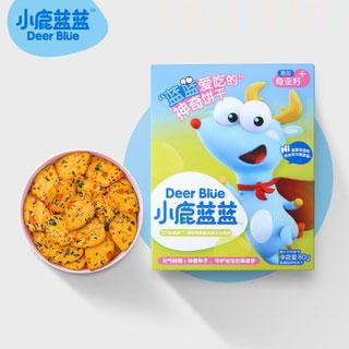 儿童牛奶蔬菜饼干2盒