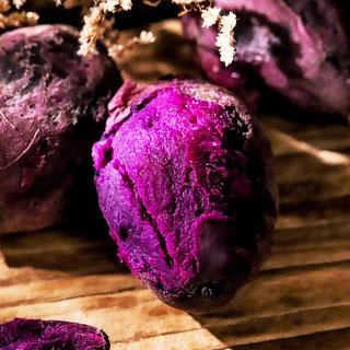 新鲜自种板栗红薯紫5斤