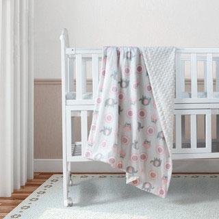 spiritkids嬰兒加厚毛毯
