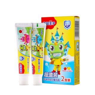 青蛙王子牙膏50g*2支