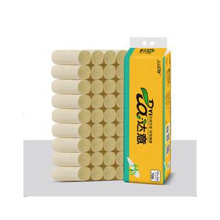 竹浆本色卷纸64卷