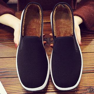 老北京爸爸冬季加绒布鞋