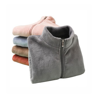 新款双面珊瑚绒男女童外套