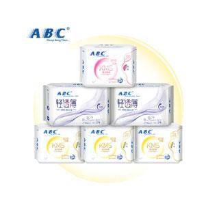 ABC卫生巾日夜组合6包