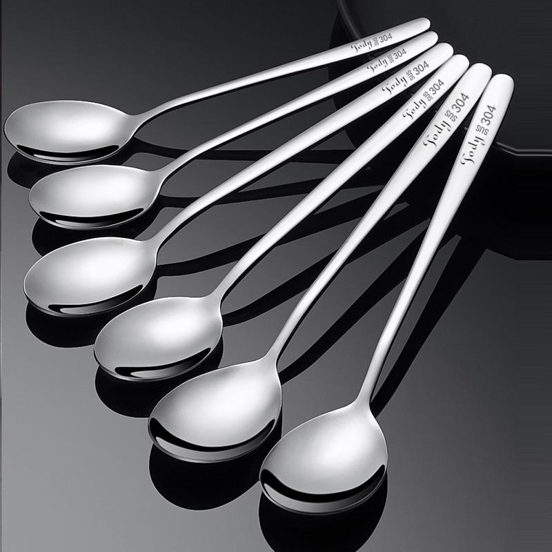 304不锈钢勺子长柄