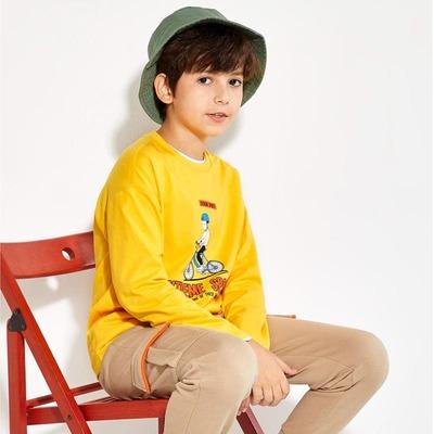男童长袖T恤