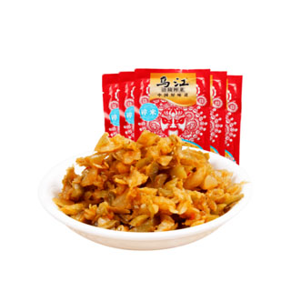 重庆涪陵乌江碎米榨菜20包