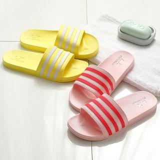 夏季拖鞋女夏日式简约家居家用浴室内外穿洗澡防滑情侣凉拖鞋男士