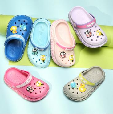 一鞋两穿儿童洞洞拖鞋