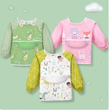 儿童吃饭罩衣防水防脏神器