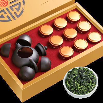安溪鐵觀音茶葉+1壺4杯禮盒